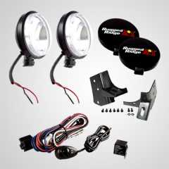 Set Proiectoare Slim 100W Rugged Ridge pt.  Jeep Wrangler (TJ) 97-06