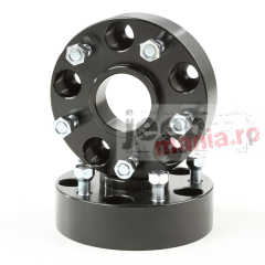 Flanse distantiere 44.5 mm RuggedRidge pt. 05-18 Jeep Wrangler JK, Unlimited JKU, Grand Cherokee WK & Commander XK