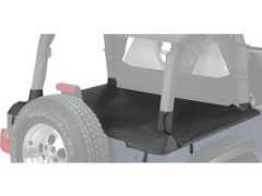 Pavement Ends  Cargo Cover in Black Diamond for 03-06 Jeep Wrangler TJ