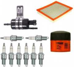 Kit Aprindere: Ignition Tune Up Kit, 1999-2002 Jeep Grand Cherokee WJ (4.7L)