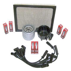 Kit Aprindere: Ignition Tune Up Kit, 1997-1998 Jeep Grand Cherokee ZJ (4.0L)