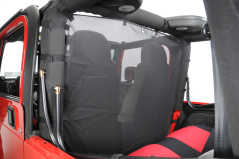 Windstopper NEGRU VDP pt. 80-06 Jeep CJ & Wrangler YJ,TJ, Unlimited