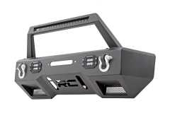 Bara fata BUMPER LED cu placa de troliu ROUGH COUNTRY - JEEP WRANGLER JL