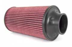 CONICAL AIR FILTER, SYNTHETIC , K&N - RUGGED RIDGE, FOR COLD AIR INTAKE KIT: OA17750.03/20, 70MM FLANGE, 270MM LENGHT