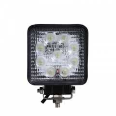 Proiector LED Rectangular 4inch - 27W, 2150 lumeni, FLOOD Beam 60 grade