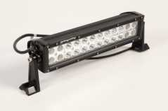 RuggedRidge - BARA Proiectoare LED 13.5 inch / 35 cm - 72W, 4800 lumeni, FLOOD Beam 60 grade