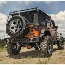 SPARTACUS by Rugged Ridge™ - Bara Spate pt. 07-18 Jeep Wrangler & Wrangler Unlimited JK