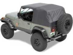 Soft-Top de Urgenta pt. 76-91 Jeep CJ-7 & Wrangler YJ - Pavement Ends