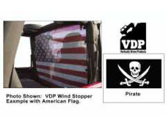 Windstopper PIRATE VDP pt. 80-06 Jeep CJ & Wrangler YJ,TJ, Unlimited