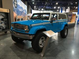 JEEP CHIEF at S.E.M.A. Las Vegas