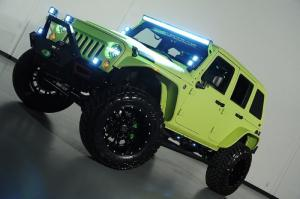 2014 Jeep Wrangler Unlimited - LineX