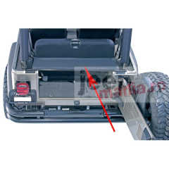 Tonneau & Replacement Tailgate Bar, 87-06 Wrangler