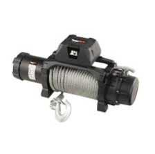 Troliu Rugged Ridge Trekker Winch, 12,500 LBS, Cable, IP68 Waterproof, Wired Remote
