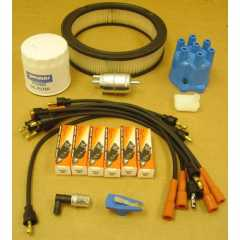 Kit Aprindere: Ignition Tune Up Kit, 1987-1990 Jeep Wrangler YJ (4.2L)
