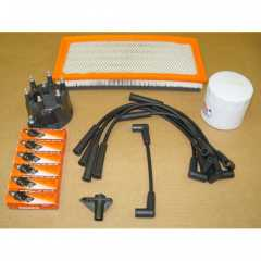 Kit Aprindere: Ignition Tune Up Kit, 1997-2000 Jeep Wrangler TJ (4.0L)