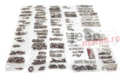 Kit Reparatie/Restaurare Caroserie (539 piese)- Body Fastener Kit, With Tailgate (539 Pieces), 1955-1975 CJ5 & CJ6