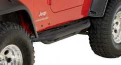Praguri RockCrawling Heavy Duty Rugged Ridge RRC Side Armor pt. 87-06 Jeep Wrangler YJ & TJ