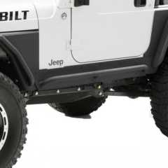 Praguri RockCrawling Heavy Duty Smittybilt XRC Rock Sliders pt. 97-06 Jeep Wrangler TJ & Unlimited